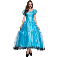 Sexy Cosplay Alice In Wonderland Cosplay Dress Dress Cosplay Maid Costume Fantasy Princess Halloween Costumes For Women