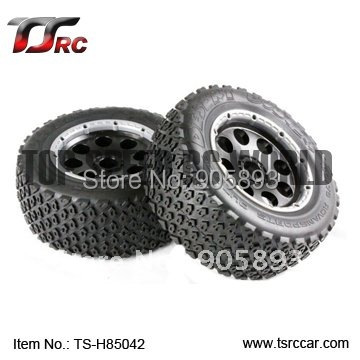 5T Rear Off-road Wheel Set For 1/5 HPI Baja 5T Parts(TS-H85042),wholesale and retail+Free shipping!!!