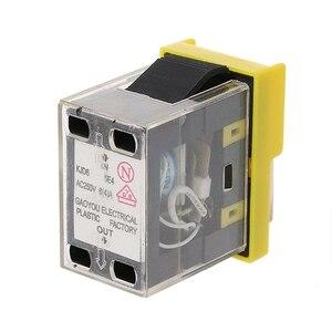 Image 3 - Máquina de botón a prueba de agua CA 250V 6A, taladro cortador de sierra, interruptores de encendido y apagado, caja de Control electromagnético