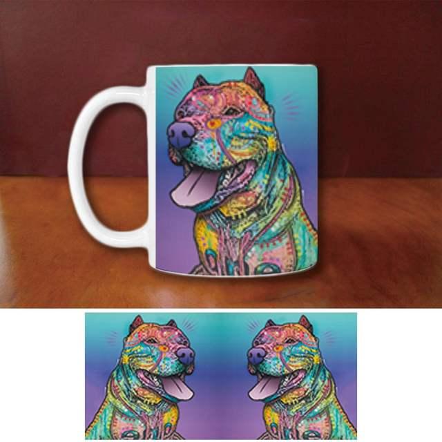 Fashion Pitbull Coffee Mugs Funny Pet
