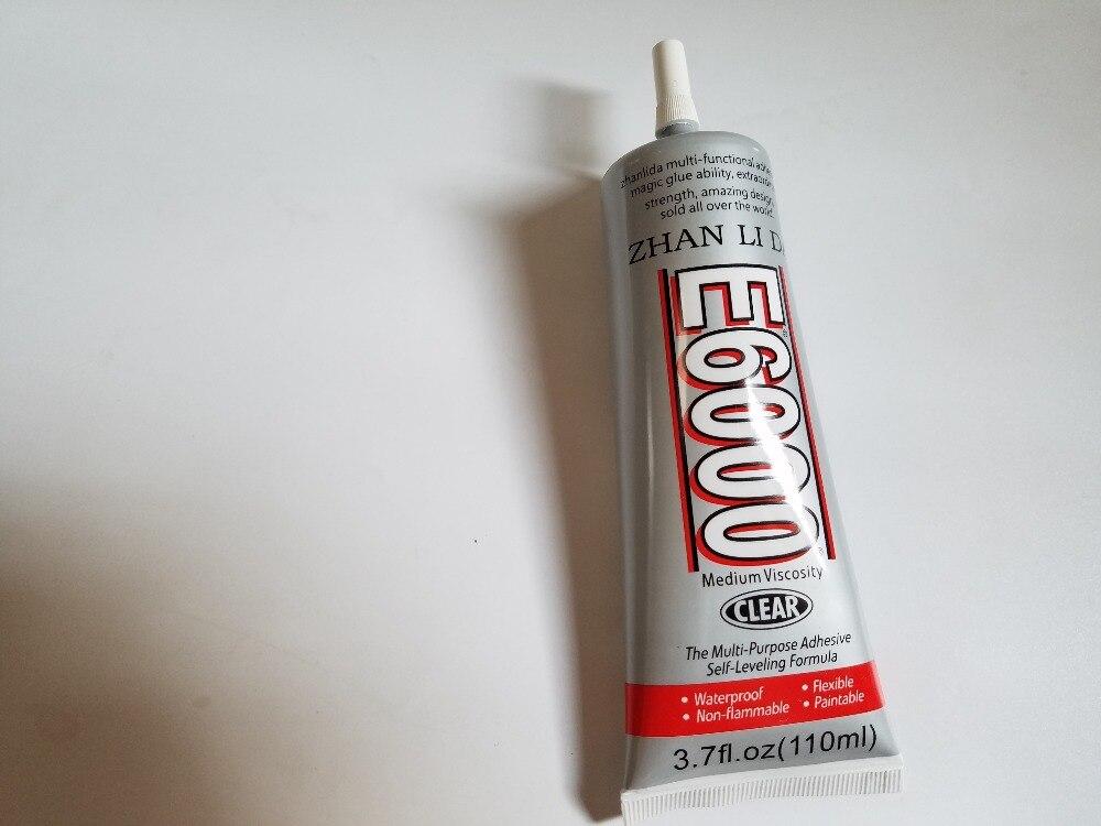 Bijoux Colle E6000 110 ML Transparent Adhésif Utilisé Pour Strass Tissu Cristal Verre En Plastique Artisanat Bricolage