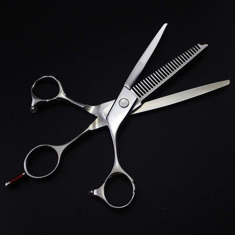 lâmina de desbaste cabelo tesoura tesouras de
