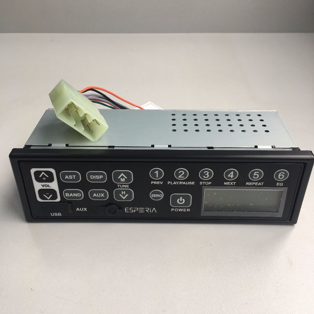 KRH M103 12V 24V LED USB AUX IP6X Factory Excavator Radio AM
