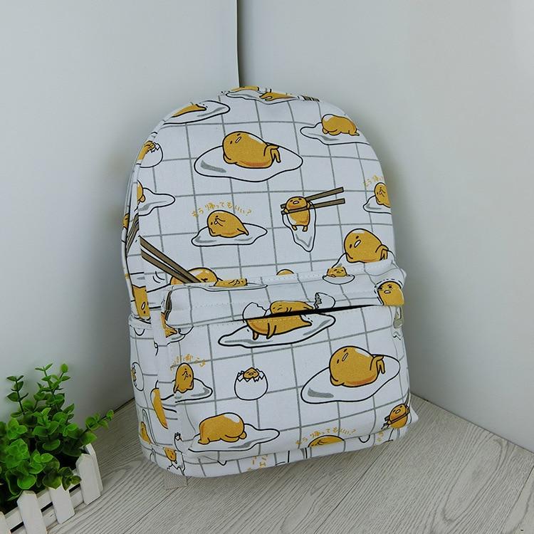 Gudetama Lazy Egg Yellow Backpack 1
