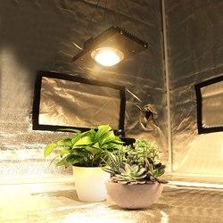 CREE CXB3590 100W 200W COB LED crece la luz de espectro completo reemplaza la lámpara HPS 200W 400W para hidroponia interior invernadero tienda planta