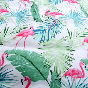 Image 3 - Tropical Plant Kid Bed Cover Set Duvet Cover Adult Child Bed Sheets And Pillowcases Comforter Bedding Set 2TJ 61006