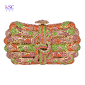 LaiSC Evening bags for women fashion brand designer Handcraft day clutch bags new party crystal handbags clutches purse SC171
