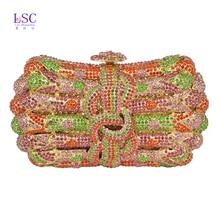 LaiSC abendtaschen für frauen modemarke designer Handwerk tag kupplung taschen neue partei kristall handtaschen kupplungen geldbörse SC171