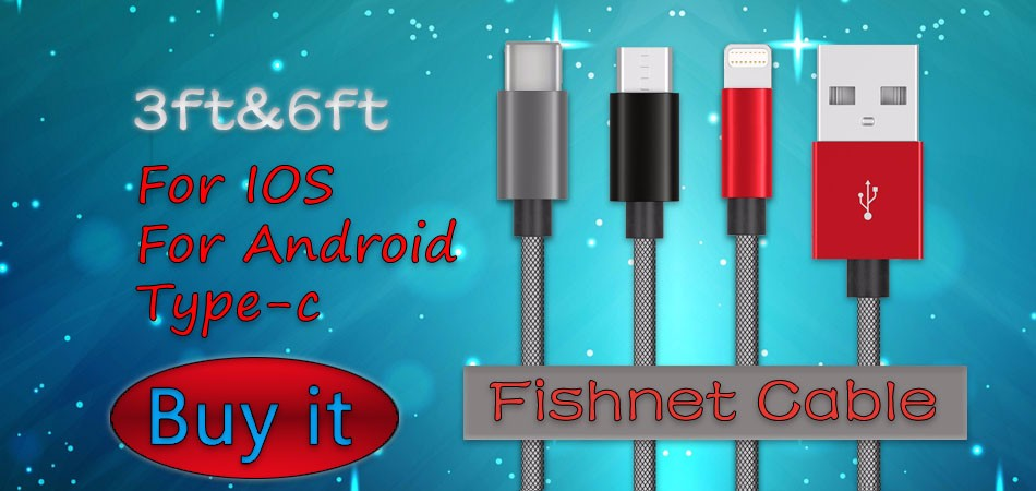 Fishnet USB Cable