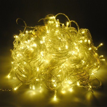 5pcs/lot. Warm white 100 LED String Light 10M 220V/110V Holiday Decoration Light for Chr ...