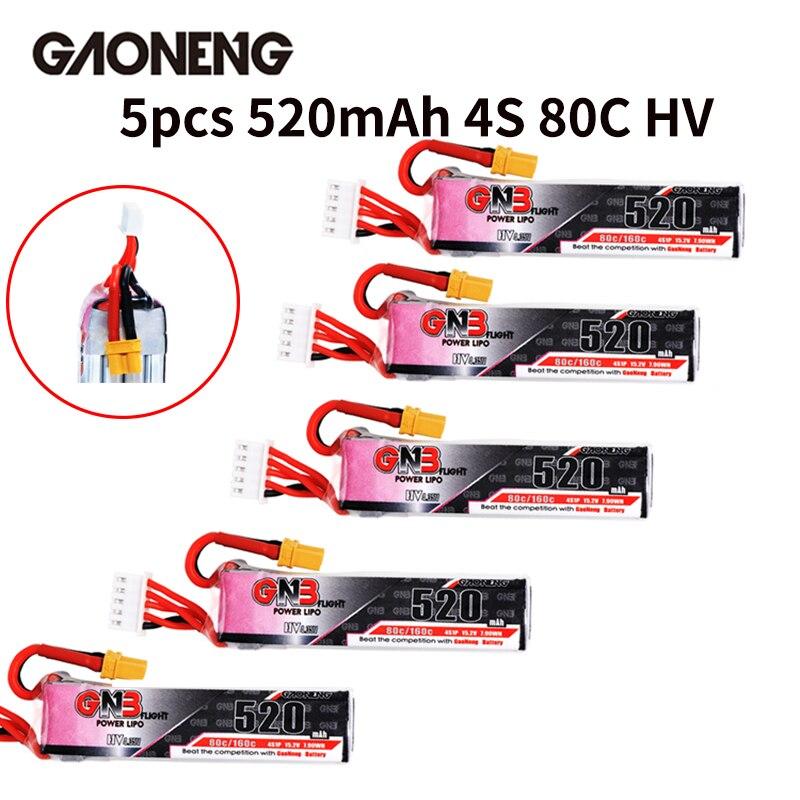 GNB 3S 520mah HV 80C XT30 Lipo Battery