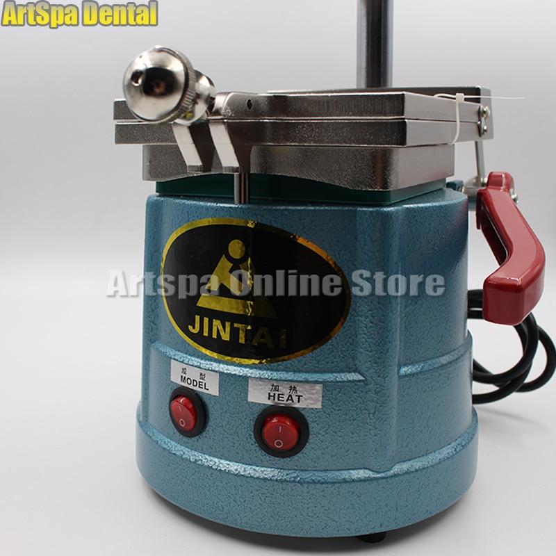 equipamento de laboratorio dental vacuo formando maquina moldagem anterior 04