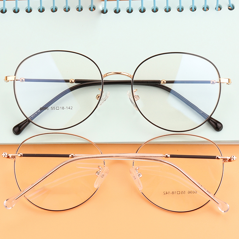 Stgrt Progressive Frame Retro Optical Photochromic Round Shape Can