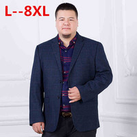 10XL 8XL 6XL 5XL New Arrival Business mens blazer Casual Blazers Men lattice Formal jacket Popular Design Men Dress Suit Jackets