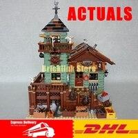 Lepin 16050 2109Pcs MOC Series The Old Finishing Store Set Children Educational Building Blocks Bricks Toys