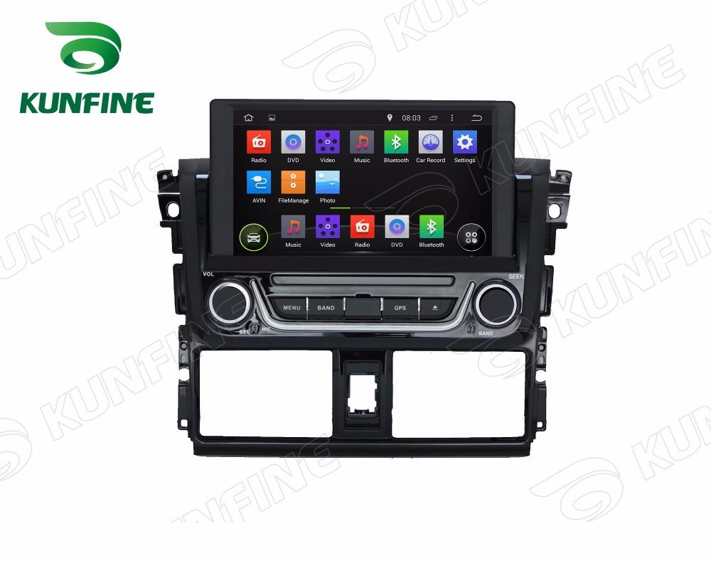 Car dvd GPS Navigation player for yaris 2014 D