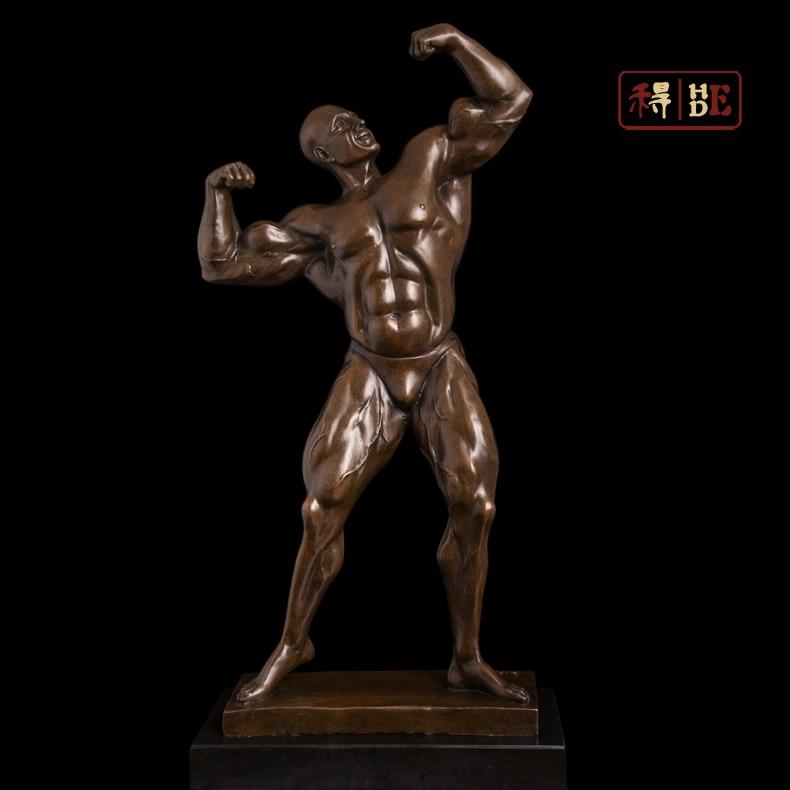 Wo have copper bronze handicraft sculpture decoration sculpture DS-540 Home Furnishing Fitness Aerobics