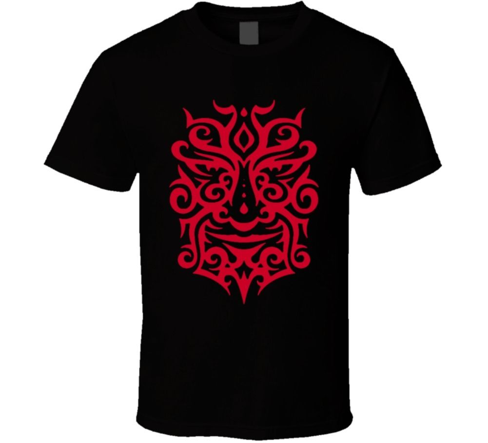 Tribal design t shirt - Maori Warrior Tribal Haka New Zeland Polynesian Red Design T Shirt Men T Shirt Print Cotton