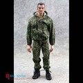"""1:6 Escala Modelo de Soldados Rússia Roupas Floral Camuflagem Uniformes de Combate de Cobertura Para 12 """"Action Figure Brinquedos Modelo"""