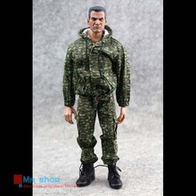 1 6 Scale Soldiers Model Clothing Russia Floral Camouflage Hedging Combat Uniforms For 12 font b