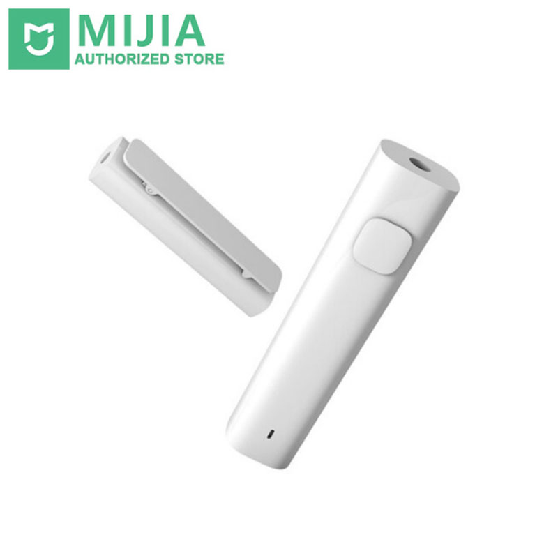 Original Xiaomi Mi Bluetooth 4.2 Audio Receiver Wireless Adapter 3.5mm Jack AUX Music Car Kit Speaker Headphone Hands Free car usb aux headphone male jack flush mount mounting adapter panel input aux connector pro 3 5mm 12v for most car use 2017 new