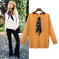 Fashion Spring&Winter Sweater Women Patchwork Pullovers O-Neck Knitted Soft Warm Cashmere Pullover Female Sweater Plus Size 5XL