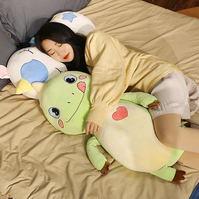 Travesseiro Animais de pelúcia Brinquedos Do Bebê Macia Travesseiro Almofada Do Sofá de Pelúcia Unicórnio De Pelúcia Dinossauro Porco Coelho Cute Dolls Crianças Presentes