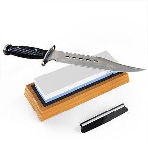 Image 2 - Premium Sharpening Stone 2 Side Grit 1000/6000 Whetstone