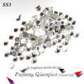 Супер Блестящие SS3 (1.3-1.4 мм) 1440 шт./пакет Прозрачного Хрусталя цвет 3D, Не Исправление FlatBack Ногтей украшения Flatback Стразами