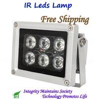Водонепроницаемый 100000 часов супер ИК светодиодный инфракрасный осветитель света IR Max 50 м ночного видения для CCTV камеры видеонаблюдения