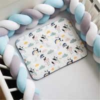 1 м/2 м/3 м детский бампер-кровать для новорожденных, завязанный тесьмой бампер для мальчиков и девочек, Bebe, защита для кровати, узел, кроватка, ...