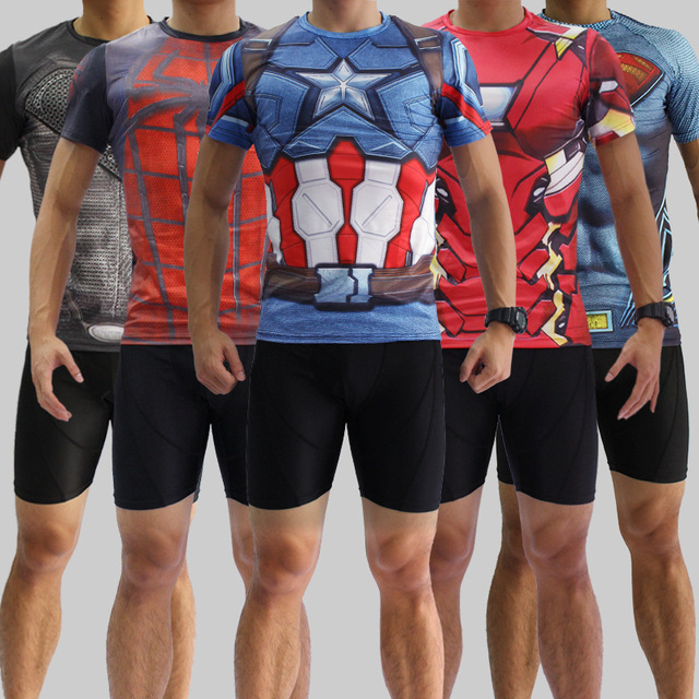 Marvel heroes união clothing collants camiseta superman spiderman homem de  ferro reator ultron t fabricantes camisa 3e7807b96e82c
