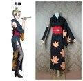 Gintama Tsukuyo kimono outfit Cosplay Costumes