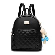 Women Leather Backpack Purse Satchel School Bags Casual Travel Daypacks for Girls Mini