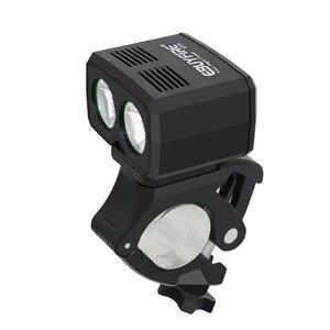 Светодиодная велосипедная фара 6000LM 5 режимов USB перезаряжаемая велосипедная передняя лампа 2x светодиодная велосипедная фара