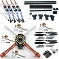 F06586-C DIY RC Quadcopter FPV Комплект: Нейлон Flamewheel + Углерода Высокий Landing Skid + КК V2.9 Контроллер + Двигатель ESC