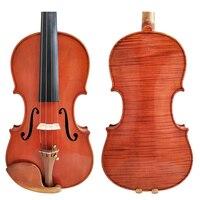 Free Shipping Copy Stradivarius 1716 100% Handmade Oil Varnish Violin FPVN04 + Carbon Fiber Bow Foam Case