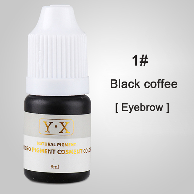 Semi Permanent Makeup Eyebrow Ink Lips Eye Line Tattoo Color Inks Microblading Pigment  Tattoo Inks Tattoo Color 4