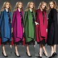 2016 Lã Cheia Nenhum Real Direct Selling Homens do Revestimento de Trincheira Longo de Moda Europeus E Americanos High-end Cor Extensão blusão
