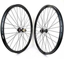 29er горных велосипедов углерода Колеса 35 мм ширина 28 мм Глубина бескамерные MTB AM/DH углерода набор колес с NOVATEC 791/792 boost концентраторы