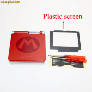 Image 2 - 4 models chose Glass Plastic Screen Limited Edition Full Housing Shell Case Cover for Gameboy Advance GBA SP Part Sets