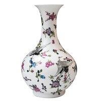 Фарфор Керамика ваза Glow скраб бутылки купить Современная мода ремесла украшения дома украшения