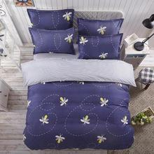 Sookie 4pcs AB Side Boho Duvet Cover Sets Vintage Bohemia Style 3pcs King Size Bedding Pillowcases jogo de cama Bed Linen