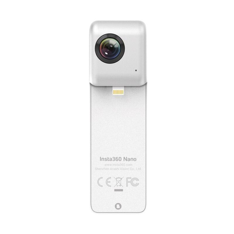 Insta360 двойной объектив 360 камера Insta360 Nano, самый маленький и легкий в мире сравнить 360 градусов двойной 3 K 360 камера для Iphone CD50