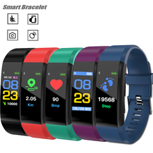 Smart Sports Activity Fitness Tracker Watch Color screen waterproof watch Pedometer Wristband