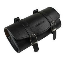 sufeite Vintage old bicycle faux saddle genuine leather cushion bag brooks bag hangback tool bag Bicycle