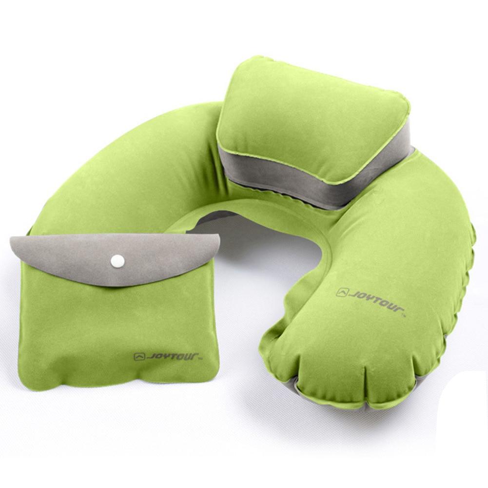 Portable Travel Pillow Inflatable Neck Pillow U Shape Neck
