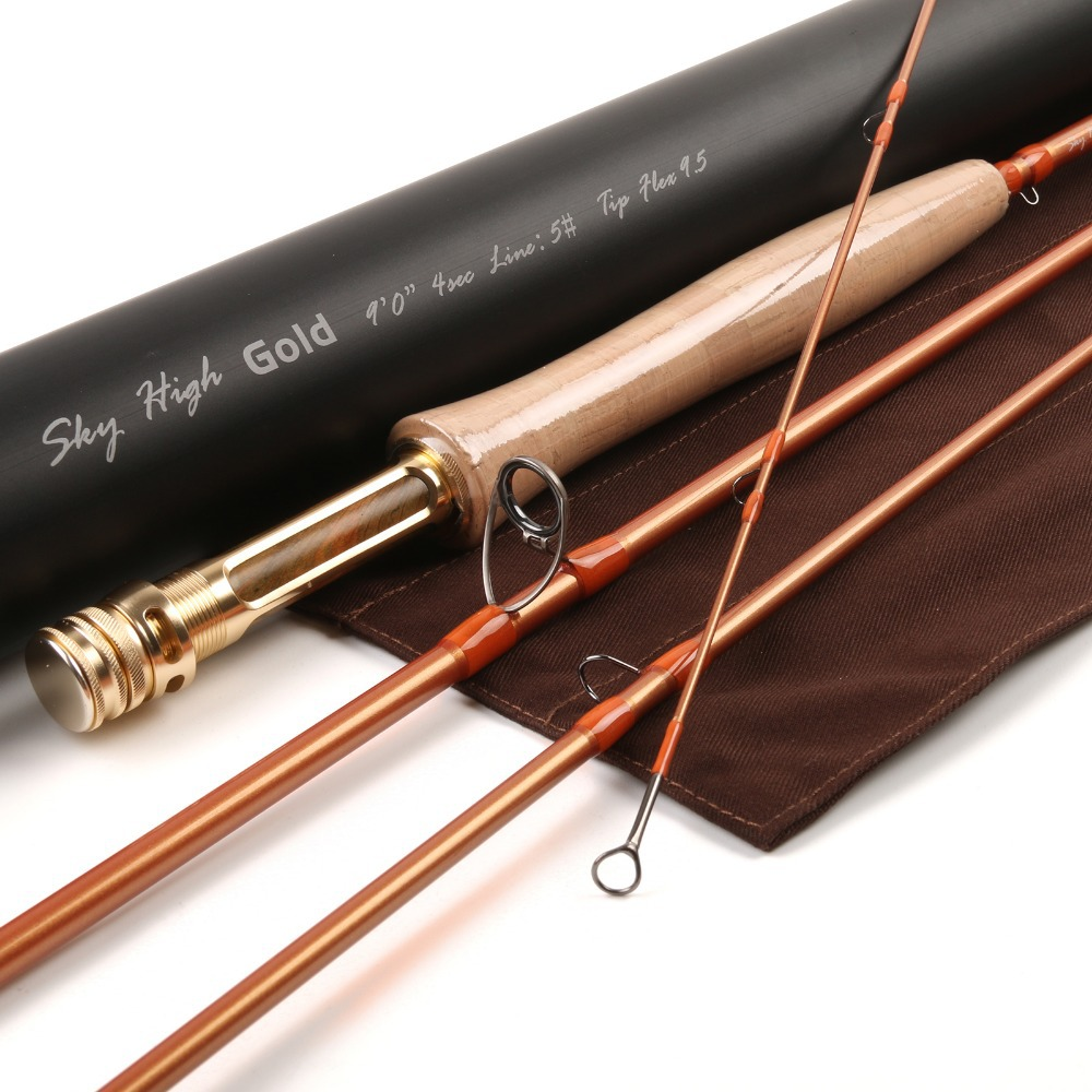 Maximumcatch Brand 9FT Fly Fishing Rod IM12 Japanese Carbon 5WT 4PCS Only 79g Fly Rod