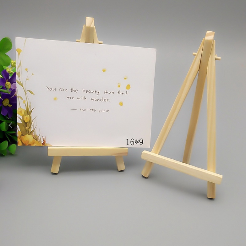 mini wood artist tripod painting easel for photo painting postcard