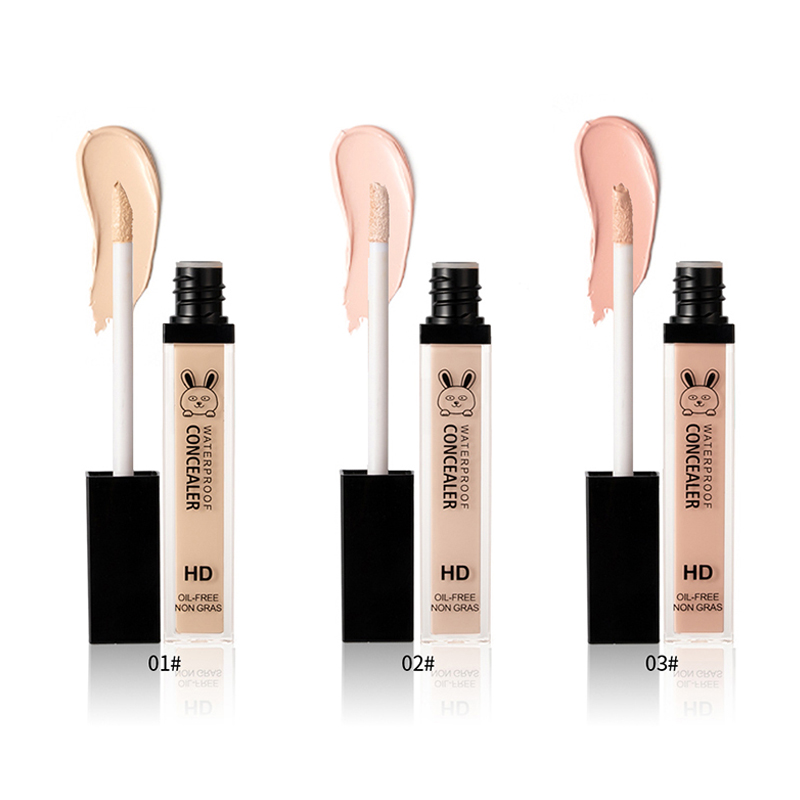 Dropshipping Concealer Liquid Waterproof Sweatproof Dark Circles Acne Mark Concealing For Makeup SMJ
